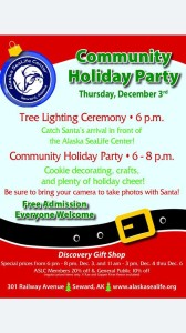 Alaska SeaLife Center Community Party