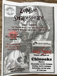 Port City Players Presents Zombie Shakespeare @ Chinook's  | Seward | Alaska | United States