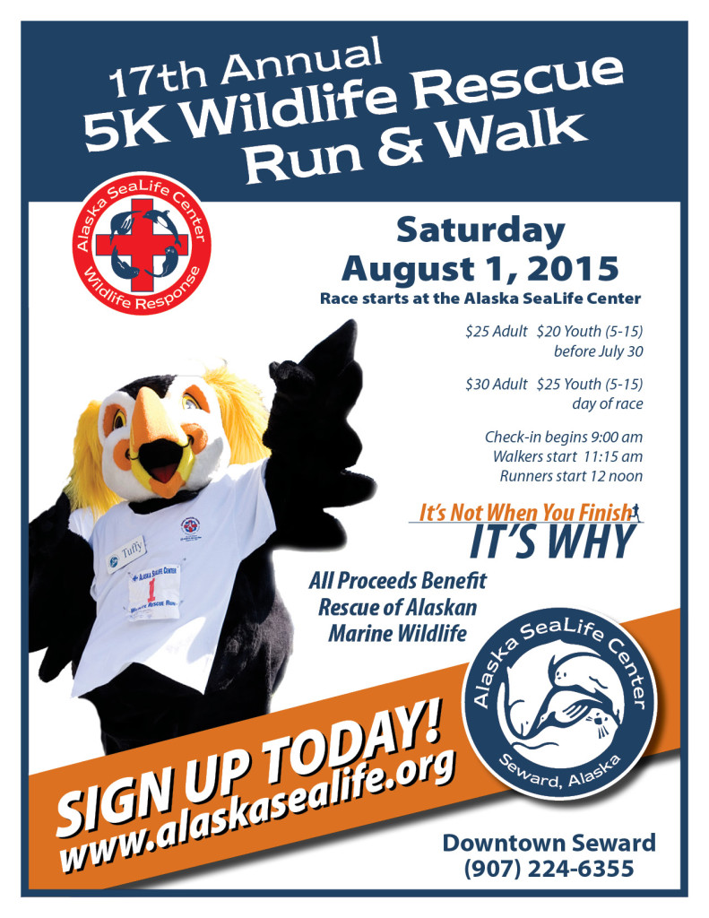 5K Wildlife Rescue Run & Walk @ Alaska SeaLife Center | Seward | Alaska | United States