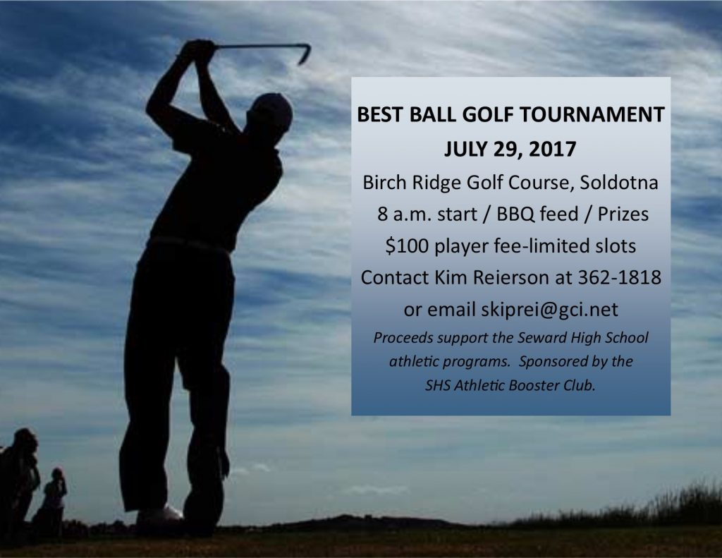 Seward Seahawk Booster Club Golf Tourney