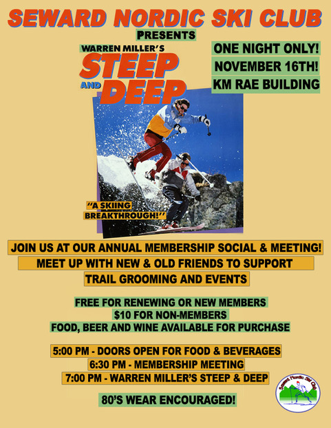 Seward Nordic Ski Club Membership  Meeting