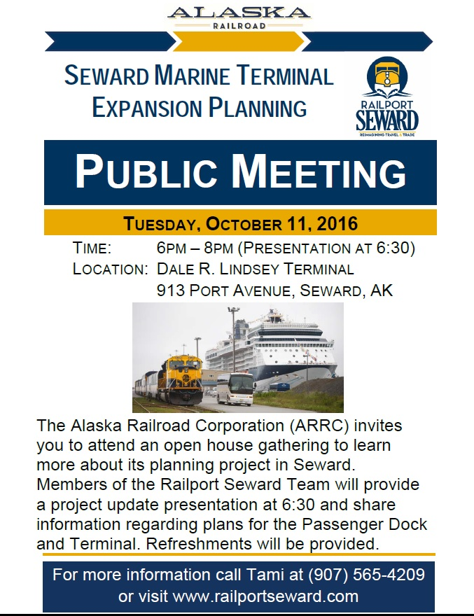 Railport Seward Public Meeting